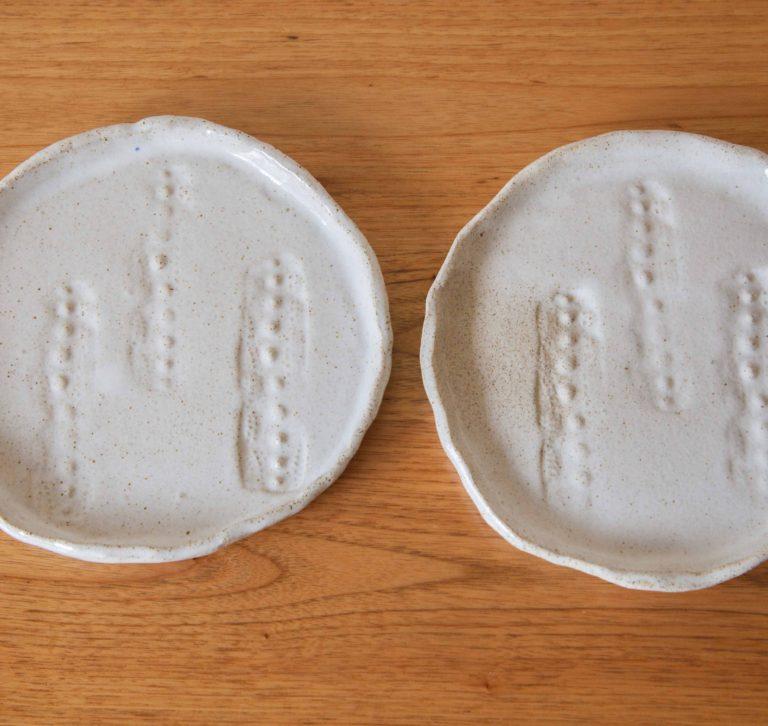 sea urchin plates