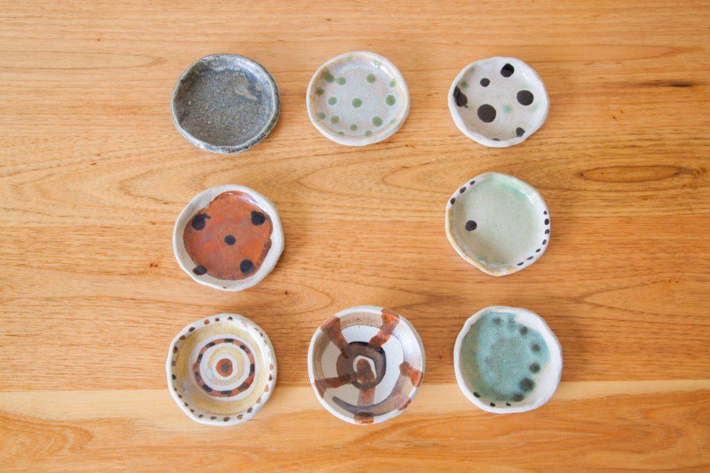 Hand Painted Mini Plates