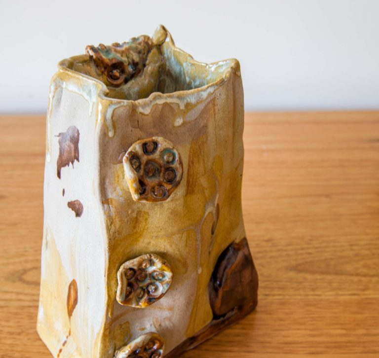 Paper Bag Vase